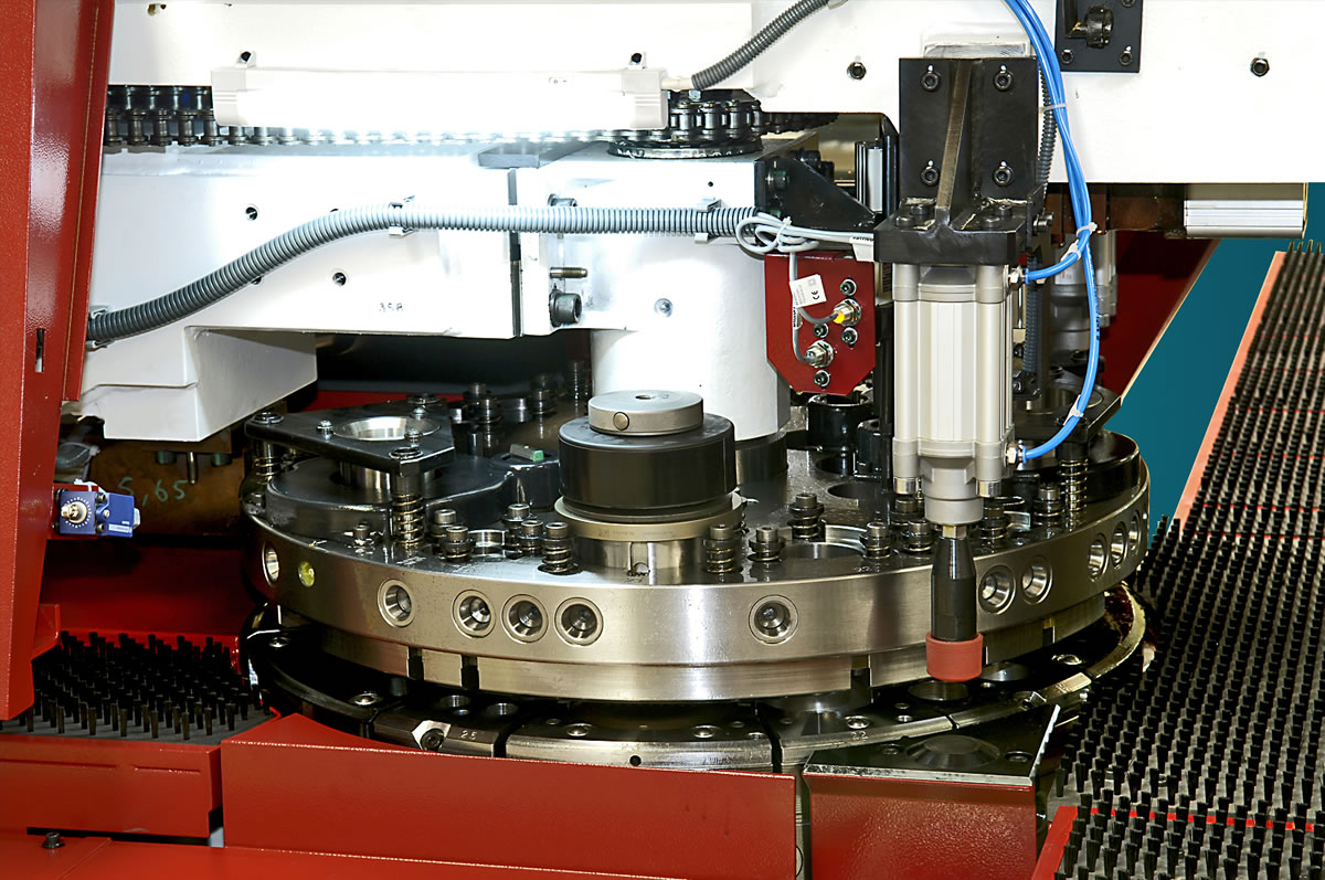 CNC punch press
